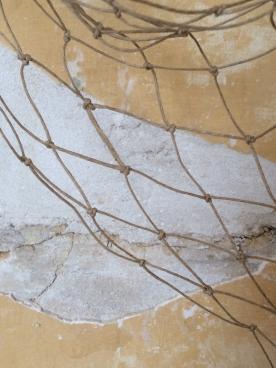 Polished flax net